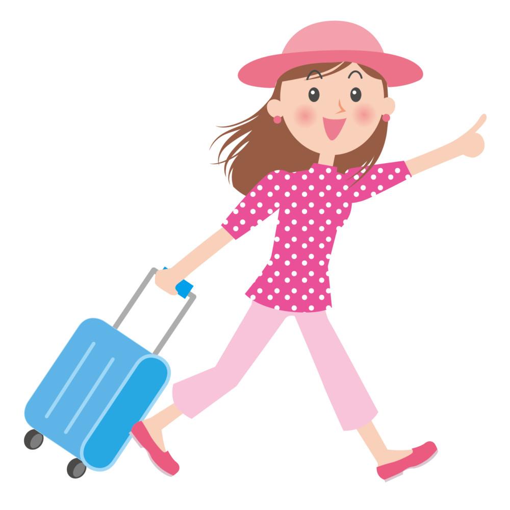 スーツケースの中の衣類