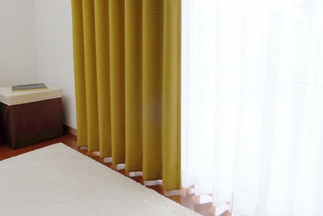カーテンやカーペット