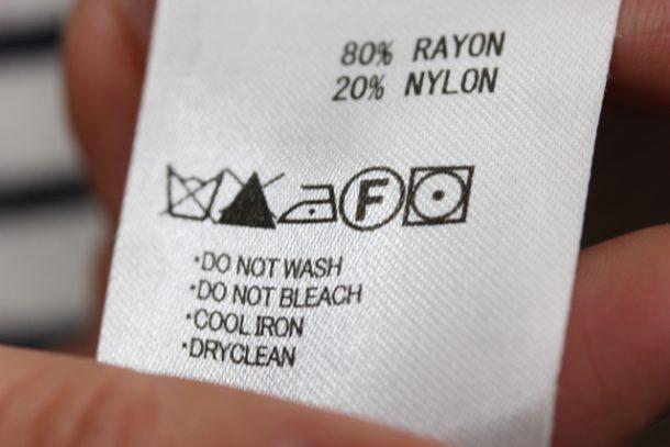 洗濯表示記号